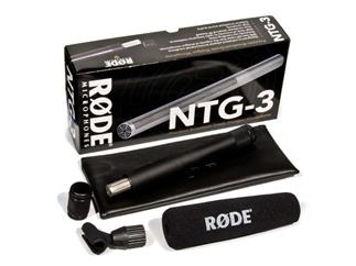 Rode Richtrohrmikrofon NTG-3 - Superniere Mikrofon