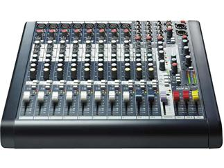 Soundcraft MFXI 8, Kompaktmischputl mit Effektgerät von Lexicon