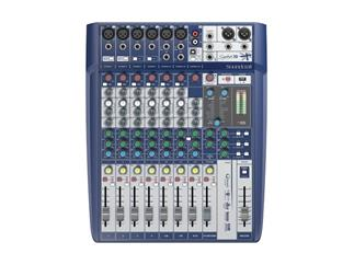 Soundcraft Signature 10 - Kompaktes 10-Kanal Mischpult mit Profi-Sound