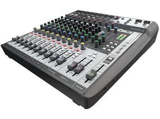 Soundcraft Signature 12 MTK - Kompaktes 12-Kanal Mischpult mit PC-Recording Funktion