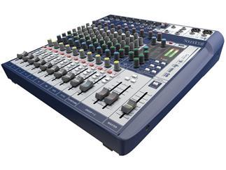 Soundcraft Signature 12 - Kompaktes 12-Kanal Mischpult mit Profi-Sound