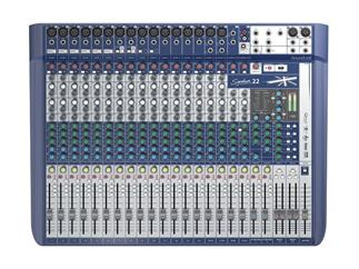 Soundcraft Signature 22 - Kompaktes 22-Kanal Mischpult mit Profi-Sound