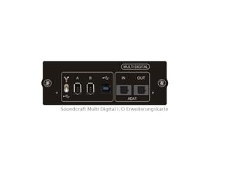 Soundcraft Si Multi Digital I/O - Erweiterungskarte