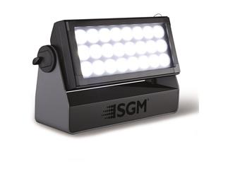 SGM P-6 RGBW LED Outdoor Fluter, 10°