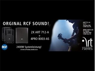 RCF ART 712-A Bundle