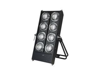 Stage Blinder 8 Dmx Black Bulb 120V 650W  DWE