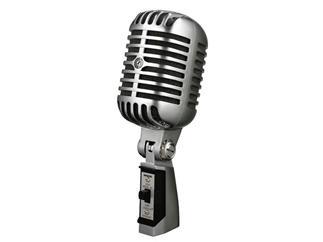"""Shure """"Elvis-Mikrofon"""" Vintage Design Ein/Aus-Schalter"""
