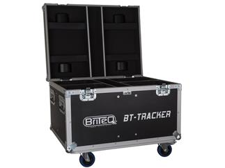 Flightcase für 4x BriteQ BT-TRACKER
