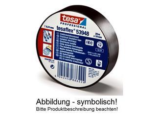 tesaflex® 53948 PVC Elektroisolierband VDE/IEC Zumbelband schwarz 50mm 25mtr