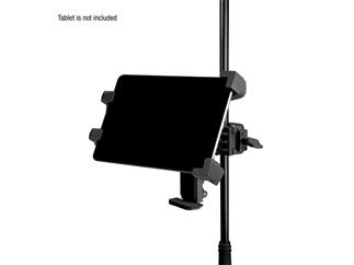 Adam Hall Stands THMS 1 - Universeller Tablet-Halter mit multifunktionalem Aufnehmer