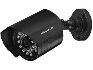 Monacor TVCCD-157SET - Hochauflösende Farb-Kamera mit Tag-Nacht-Funktion