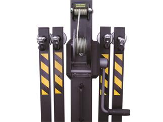 Fantek Lift T-104D, schwarz, max. Höhe 5,16m, max Auflast 200kg