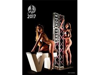 VT-Kalender 2017 Pin-Up Akt Erotik Wandkalender mit Veranstaltungstechnik