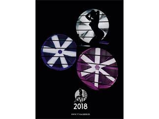 VT-Kalender 2018 Pin-Up Akt Erotik Wandkalender mit Veranstaltungstechnik