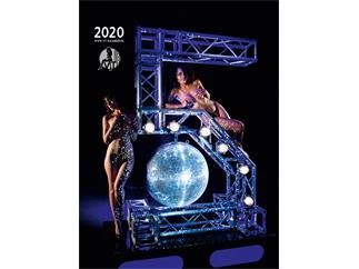 VT-Kalender 2020 Pin-Up Akt Erotik Wandkalender mit Veranstaltungstechnik