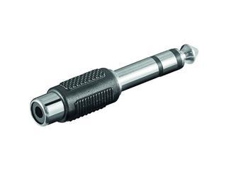 Audio-Adapter, 6,35 mm stereo Stecker >Cinch Kupplung