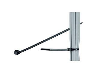 Kabelbinder, wetterfester Nylon, schwarz, Länge 300 mm Breite 3,5 mm