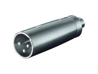 XLR- Adapter, 3-pol. XLR-Stecker > Cinchkupplung