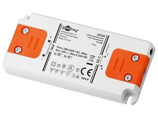 Goobay LED-Trafo DC-Betrieb 24 Volt 0,5 - 6 Watt