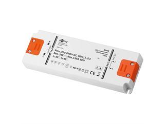 Goobay LED-Trafo DC-Betrieb 24 Volt 0 - 50 Watt