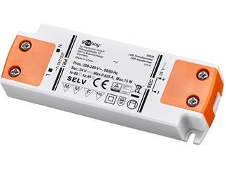Goobay LED-Trafo DC-Betrieb 24 Volt 0,5 - 15 Watt
