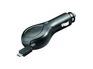 KFZ-Ladekabel 12V/24V Micro USB, mit Kabelrolle