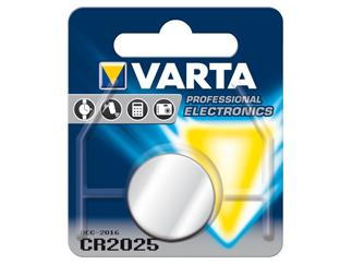 Varta CR2025 (6025) - Lithium-Knopfzelle, 3 V