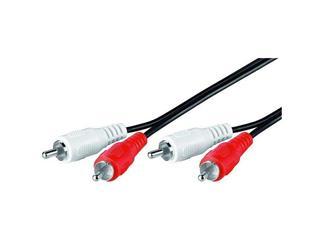 Audio-Video-Kabel 20,0 m lose Ware, 2 x Cinchstecker > 2 x Cinchstecker