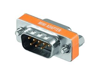 Gender Changer D-SUB M/F Null-Modem Adapter 9-pol