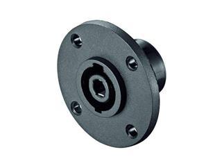 PA Lautsprecher-Einbaukupplung, 4 pol., rund für Chassismontage