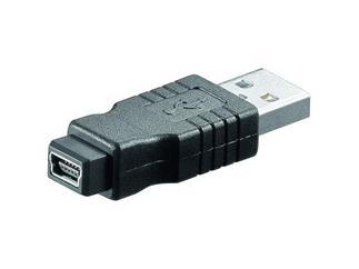USB-Adapter Lose Ware, A Stecker > 5 pol. mini B Buchse