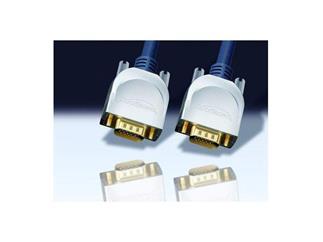Clicktronic® Home Cinema 15,0m, VGA/SVGA 15pin St. <> VGA/SVGA 15pin St.