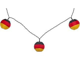 goobay LED Lichterkette Deutschland, inkl. Netzstecker