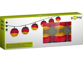 goobay LED Lichterkette Deutschland, batteriebetrieben