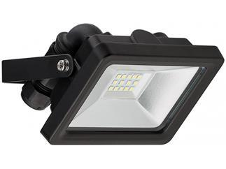 goobay LED Außen-Flutlichtstrahler schwarz, 10W