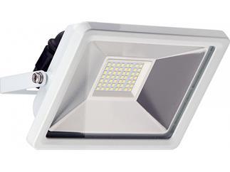 goobay LED Außen-Flutlichtstrahler weiß, 30W