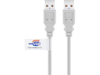 USB 2.0 Kabel Blister, A Stecker > A Stecker