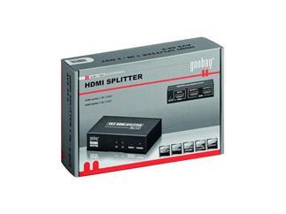 Übertragung eines HMDI Signals auf 2 LCD/Plasma TV´s, Netzteil und 2 sprachige Anleitung