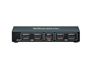 Übertragung eines HMDI Signals auf 4 LCD/Plasma TV´s, Netzteil und 2 sprachige Anleitung