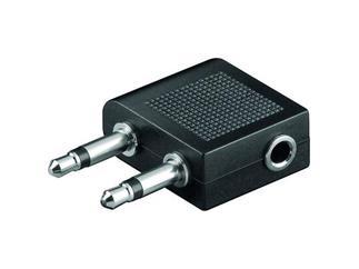 2 * 3,5 mm mono Stecker / 3,5mm stereo Buchse,