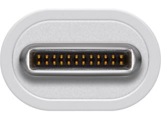 Goobay USB-C™-Adapter DVI, weiß