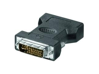 DVI analog - VGA Adapter lose Ware, DVI (24+5) Stecker > 15pol VGA HD-Buchse