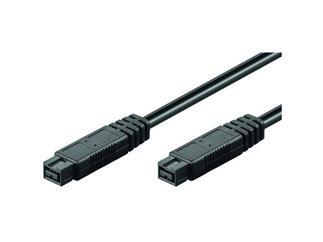 FireWire+ Kabel, 9 pol. Stecker > 9 pol. Stecker