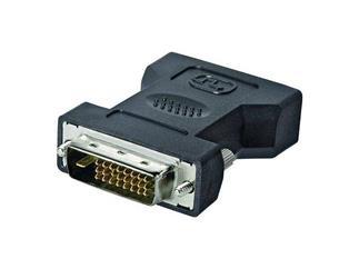 DVI-I/DVI-D Adapter lose Ware, DVI-I Buchse (24+5)>DVI-D Stecker (24+1)