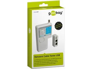 Kabeltester USB zur Prüfung von CAT 5/6 Netwerk- und ISDN-Verbindungen