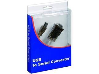 USB auf seriell Konverter Blister, USB A Stecker > 9-pol. SUB-D Stecker