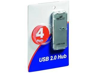 USB 2.0 Verteiler Blister, USB A Stecker > 4 x USB A Buchse, USB Hub