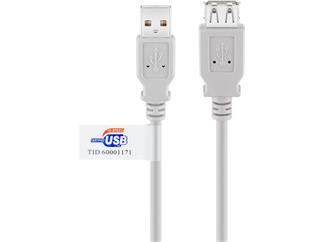 USB 2.0 Verlängerung Blister, A Stecker > A Buchse