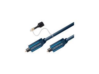 Clicktronic Casual Opto-Kabel-Set(TOSLINK-Stecker/TOSLINK-Stecker), 3,0m