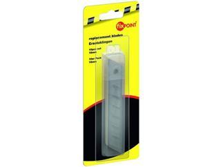 Ersatzklingen für Mehrzweckmesser, 10er Pack - 18 mm